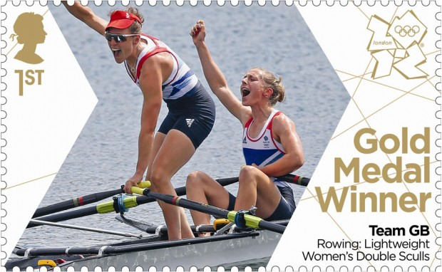 Katherine Copeland's and Sophie Hosking's Stamp