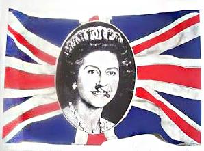 Jamie Reid, God Save The Queen