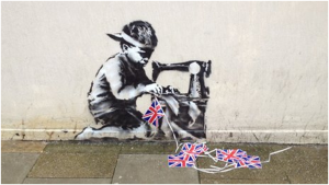 Banksy - Slave Labour